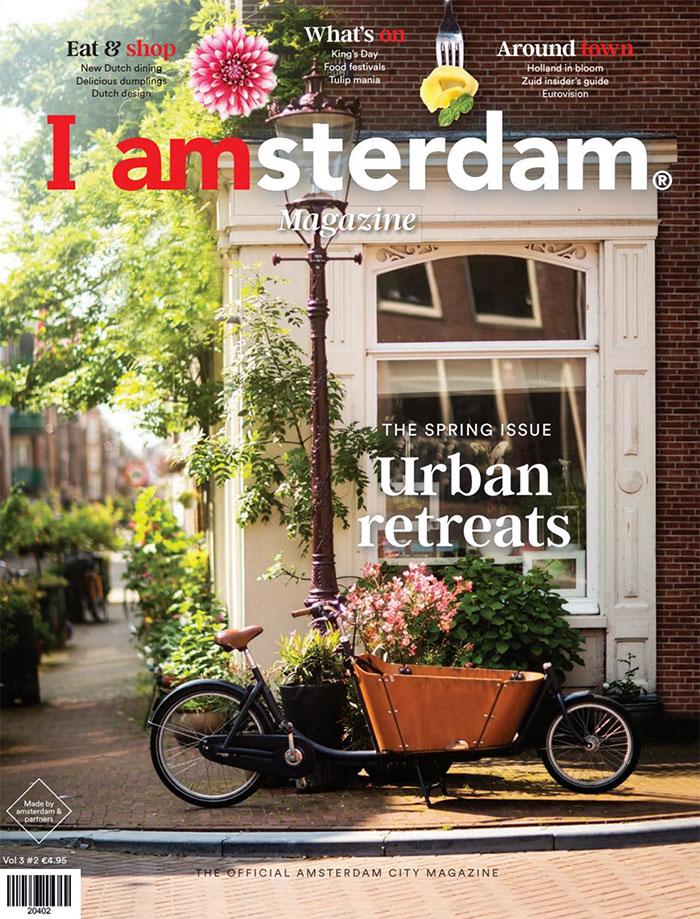Cover of I amsterdam magazine