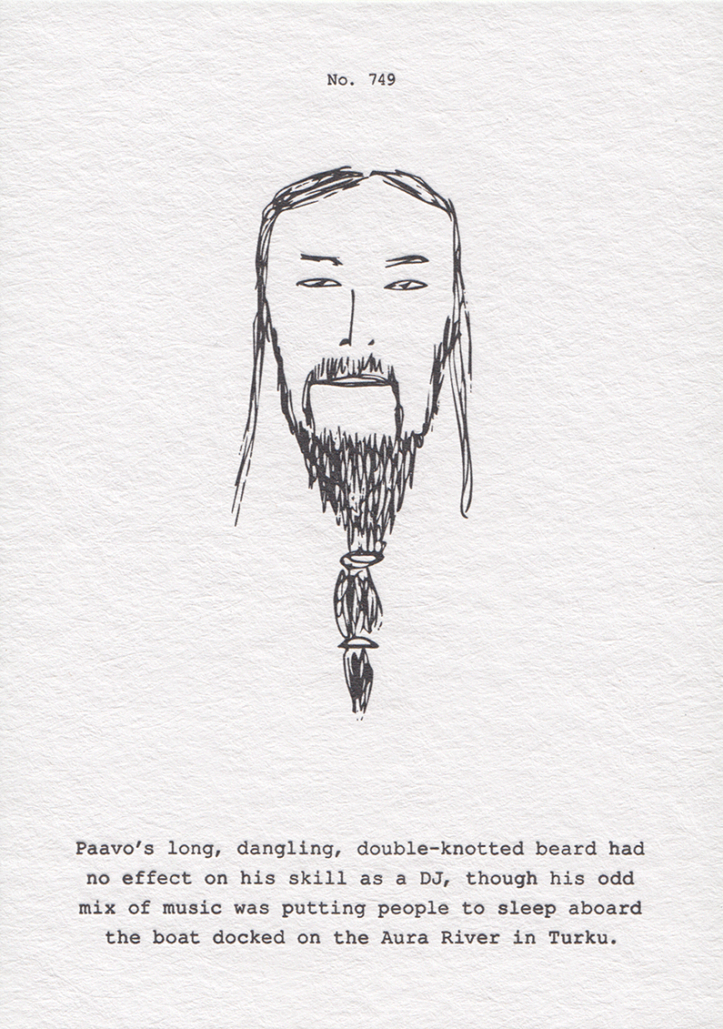 Drawing of Paavo from Turku
