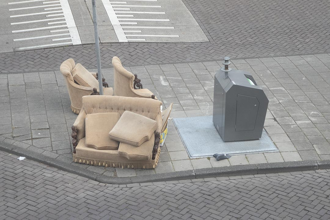 Bin with camel lounge suite